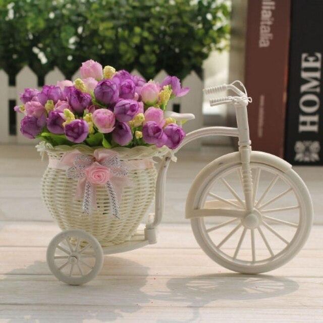De mariage Décor Tricycle Vélo Conception Bouquet De Fleurs Panier ...