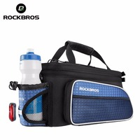 ROCKBROS Cycling Bicycle Bag Rear Package MTB Bike Carrier Seat Bags Tail Trunk Pannier Riding Backpack