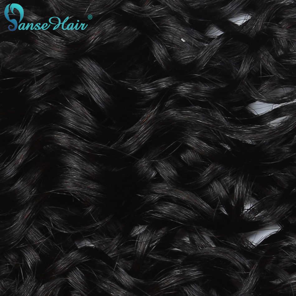Panse Hair Water Wave brazylijskie doczepy do włosów splot wiązek 4 oferty pakietowe ludzkie włosy nie Remy dostosowane od 8 do 30 cali