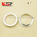 Kingsun 4'' sus 304 Stainless Steel V Band Male And Female Flange Professional For Turbo/Exhaust Pipes/Downpipes