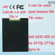 For iPod Classic VIDEO 128GB SSD NEW 1.8inch ce/zif solid state drivese REPLACE MK1634GAL MK1231GAL HS12YHA MK8022GAA