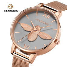 STARKING 30m Waterproof Rose Gold Watch Women Quartz Watches Steel Ladies Top Brand Luxury Female Wrist Watch Girl Clock Relogio