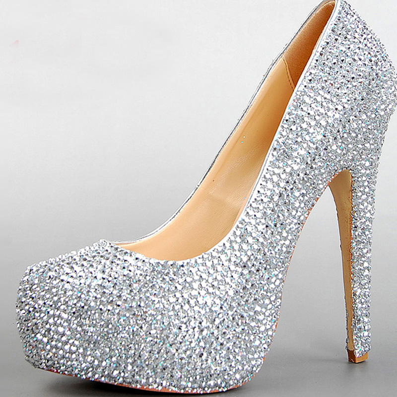 Popular Silver Prom Dress Shoes Buy Cheap Silver Prom Dress Shoes Lots From China Silver Prom