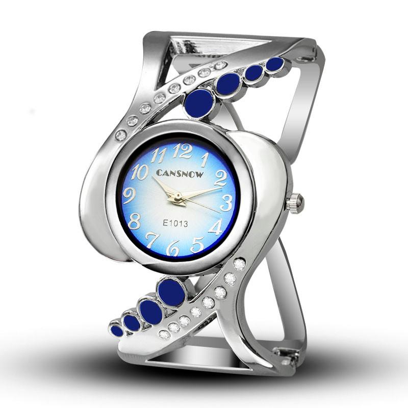 New design women bangle wristwatch quartz crystal luxury relojes rhinestone fashion female watches hot sale eleagnt mujer watch 9