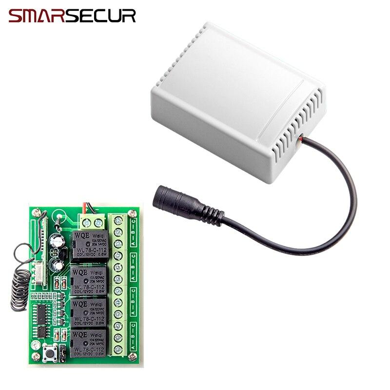 Sans fil À Distance Smart Control 4CH Sans Fil Relais Sortie pour G90B G90B plus S2G S2W S1 G90E