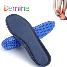 Basketball Football Shoe Pads Honeycomb Sport Insoles Silicone Massage Breathable Deodorant Shock Absorption Motion Insoles цена 2017