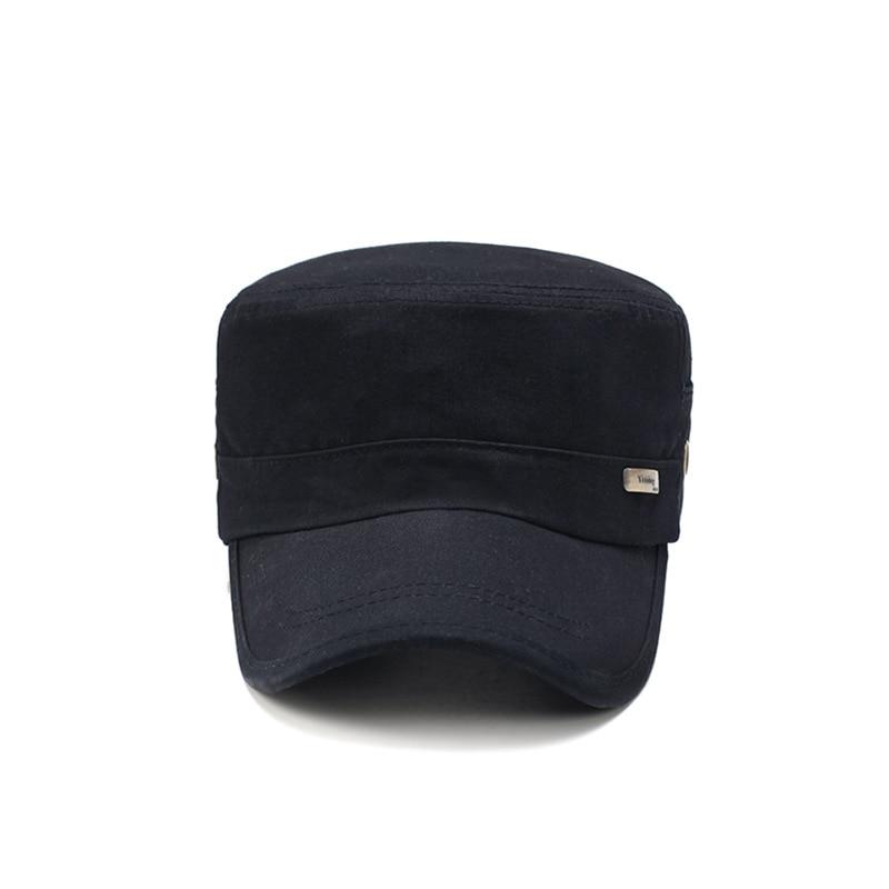 Black and white Plaid Beret male short eaves Bere hat simple cap trendy ms plaid flat topped hat cap