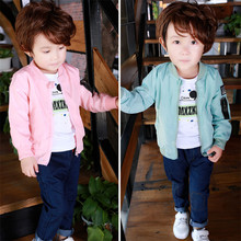 80-130cm Cute Mickey Spring Children Coat Autumn Kids Jacket Boys Outerwear Coats Active Boy Windbreaker Baby Clothes Clothing недорого