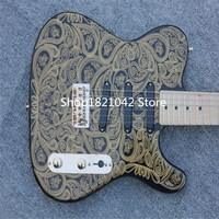 James BTN Oro Paisley TL De La Guitarra Electrica Hardware China Guitarras Instrumentos Musicales FreeShipping Guitare