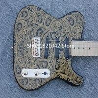 James BTN Oro Paisley TL De La Guitarra Electrica Hardware China Guitarras Instrumentos Musicales FreeShipping Guitare