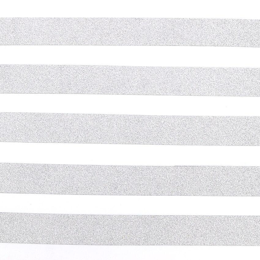 10м*15мм творческий серебряный цвет Васи Лента блеск Флэш наклейки DIY альбом украшения клейкой рук малярный скотч 1 шт
