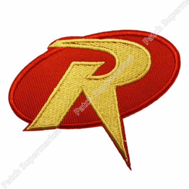 35 Robin R Uniform Red Gold Logo Batman Animated Tv Movie Series