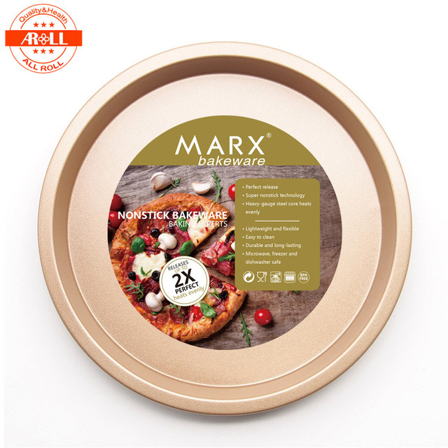 MARX 6 7 8 Inch Nonstick Bakeware Pizza Pan Tray Baking Mould Non-Stick Round  sc 1 st  AliExpress.com & MARX 6 7 8 Inch Nonstick Bakeware Pizza Pan Tray Baking Mould Non ...