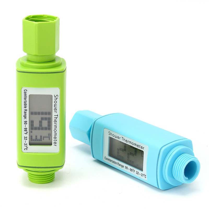 LM-303 LCD Display Digital Shower Head Water Thermometer Water Temperture Test Meter Monitor for Baby Healthy Care