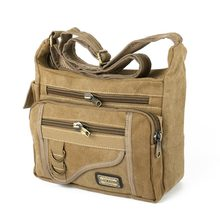 Ruil Crossbody bag New Multifunction Men bag Retro handbags Women Canvas Bags Shoulder Messenger Bags Leisure Package 2017