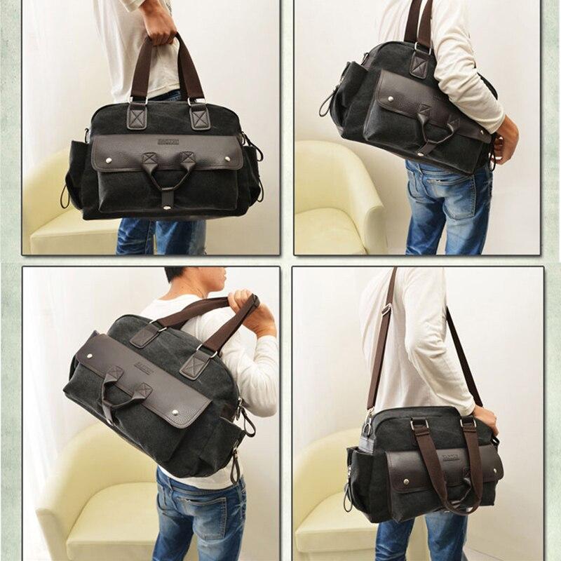 Varumärke Design Resa Bagage Totes Män Mode Stor Handväska - Väskor för bagage och resor - Foto 6