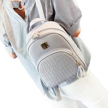Femmes sac à dos en cuir sacs décole pour adolescent filles pierre pailleté femme preppy style petit sac