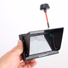 Blueskysea FX-F408 4.3″ LCD 5.8G 32Ch FPV Monitor 2-In-1 Wireless Receiver Black/W For FPV Multicopter RC Quadcopter Part