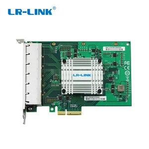 Image 3 - LR LINK 2006PT Gigabit Ethernet Industrial Adapter Six Port PCI Express Lan Network Card Server Adapter Intel I350 NIC