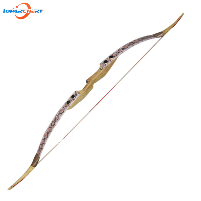 Youth or Adult Hunting Wooden Bow 45lbs 50lbs Chinese Traditional Take Down Bow Recurve Bow for Outdoor Shooting Target Practice