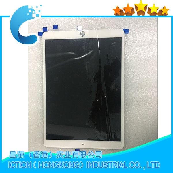 LCD d'origine Assemblée Pour iPad Pro 10.5 A1709 A1701 LCD Assemblée Écran Tactile Panneau Blanc EMC 3140 EMC 3141