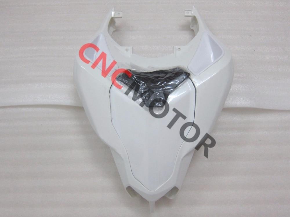 Неокрашенный АБС Прессформа Впрыски хвост обтекатель комплект задняя часть кузова для Ducati 848 1098 1198 2007-2011 08 09 10