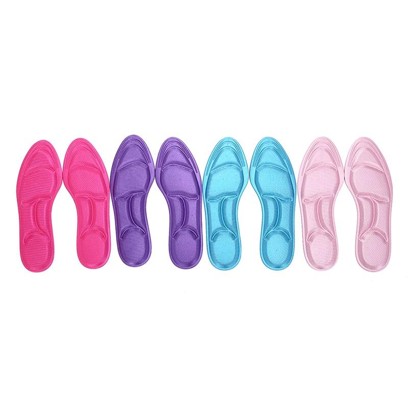Massage Men Women Foot Pad Orthopedic Insoles Arch Support 5D Insoles Sport Orthopedic Foot Care Insole Random Color
