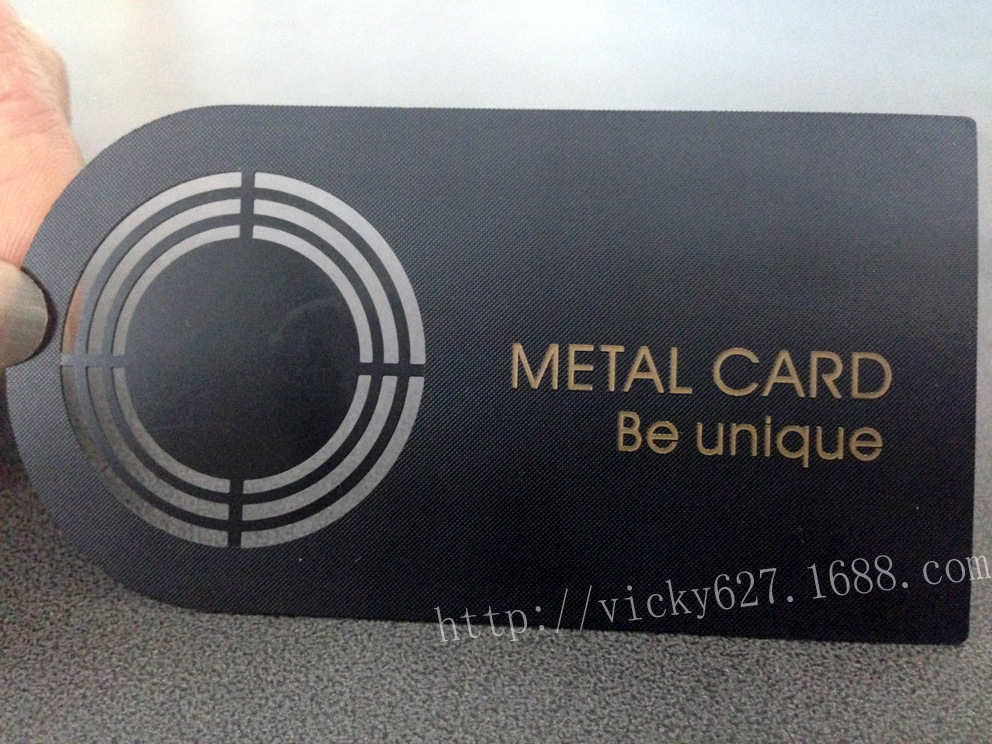 High end cards personalized business cards metal hollow metal ...