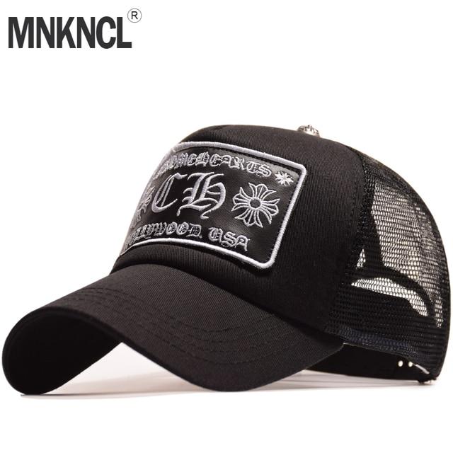 f249f9b0be9 MNKNCL High Quality Summer Sport Mesh Baseball Cap Men and Women Sun Cap  Outdoor Snapback Bone Breathable Hats