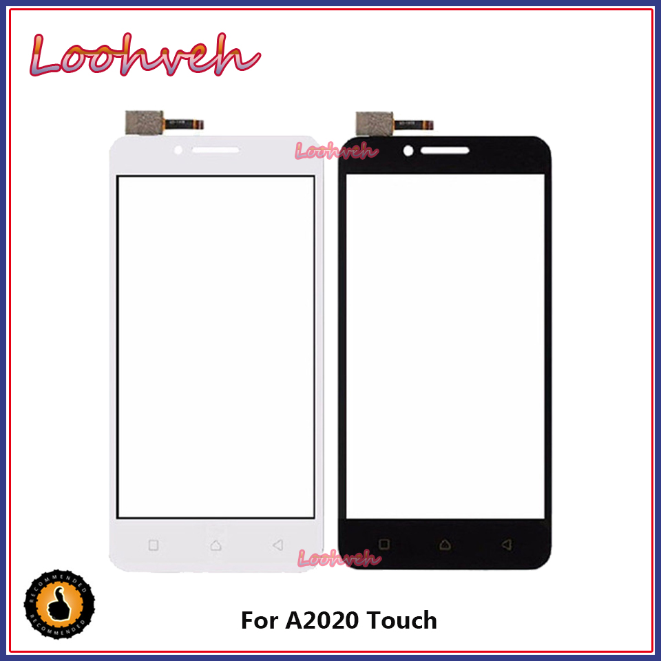 Touch Screen Digitizer 5.0''For Lenovo Vibe C A2020 A2020a40 Touchscreen Front Glass Sensor Panel Replacement