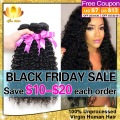 Malaysian Virgin Hair Kinky Curly Hair 3 Bundles 8-30 Inch,7A Unprocessed Malaysian Kinky Curly Virgin Hair Human Hair Extension