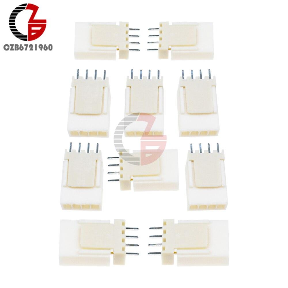 50PCS 4Pin KF2510-4P KF2510 4P 2.54mm Pitch Terminal Housing Header Connectors Adaptor DIY Kits