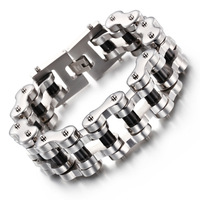 Bicycle Chain Bracelet Trend Classic Men S Titanium Steel Men S Bracelet Accessories