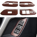 Nulla 2 type Window Switch Cover Trim Frame Decorative For Toyota Prado FJ150 2010 2011 2012 2013 2014 Car Stickers Chrome 4pcs