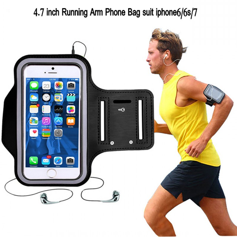 Running Arm Bag Phone Holder Gym Fitness Outdoor Jogging