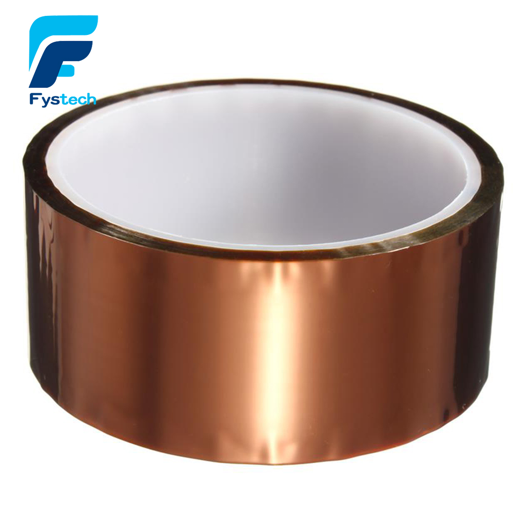 New 40mm X 30m Adhesive Tape High Temperature Heat Resistant Polyimide Tape 260-300 Degree For Electronic Industry
