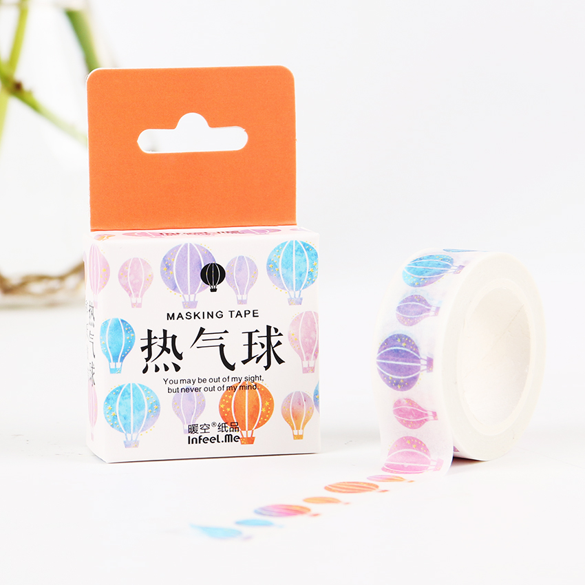 2PCS DIY 7M Colored Starry Bird Washi Tape Decorative Bird Adhesive Tape Masking Tape Stationery Stickers for Office Supply 2017 new arrival masking decorative tape day of the week black white school stationery scrapbooking tool office adhesive tape 7m