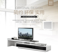 ТВ стенд для гостиной мебель для дома ТВ таблица Современный модный стиль ТВ Кабинета краска белый/черный ТВ блок в сборе meuble ТВ