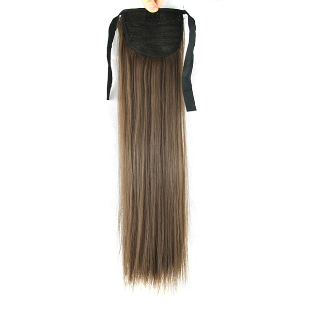 Soowee Long Synthetic Hair Straight Hair Ponytail Horse Hair