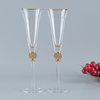 Wedding glass Toasting flutes Champagne glass Wine glass cup for wedding gift