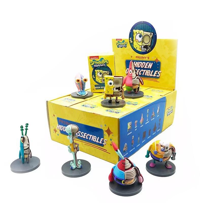 Mighty Jaxx Jason Freeny Spongebob Patrick Star Squidward Tentacles Fashion Toys Model