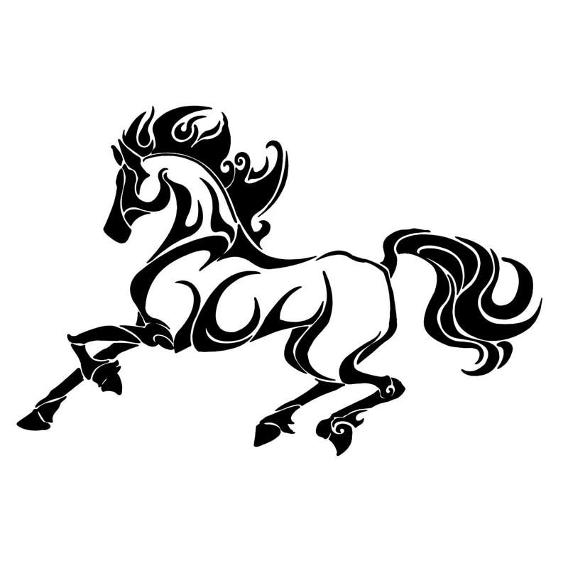 Horse Truck Decals Reviews Online Shopping Horse Truck Decals -  horse graphics for trucks
