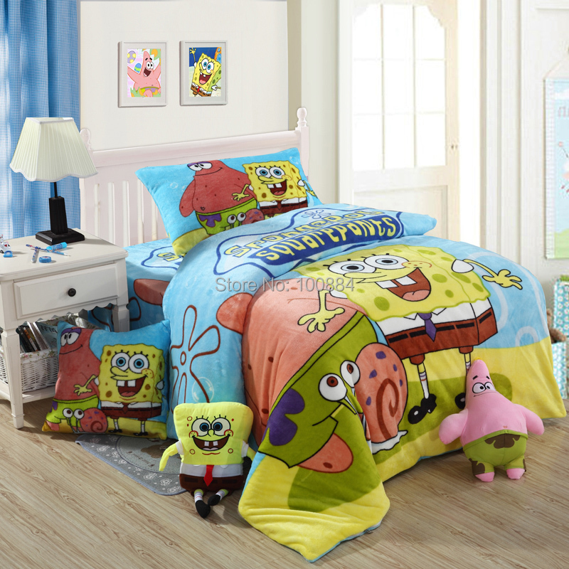 Compare Prices on Spongebob Queen Bedding- Online Shopping ...