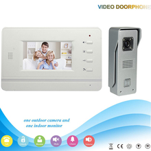-V43B3-M3 1V1 2016 Hot selling 4.3 Inch security Intercom system Video Door Phone work with electronic lock Intercom System