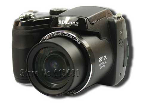 "Free shipping!DSLR digital camera,16M CCD 21X optical zoom and 3.0""color LCD digital camera"