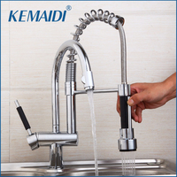 KEMAIDI High Quality Antique Brass Bathroom Sink Basin Faucet Water Tap For Bathroom And Kitchen Mixer