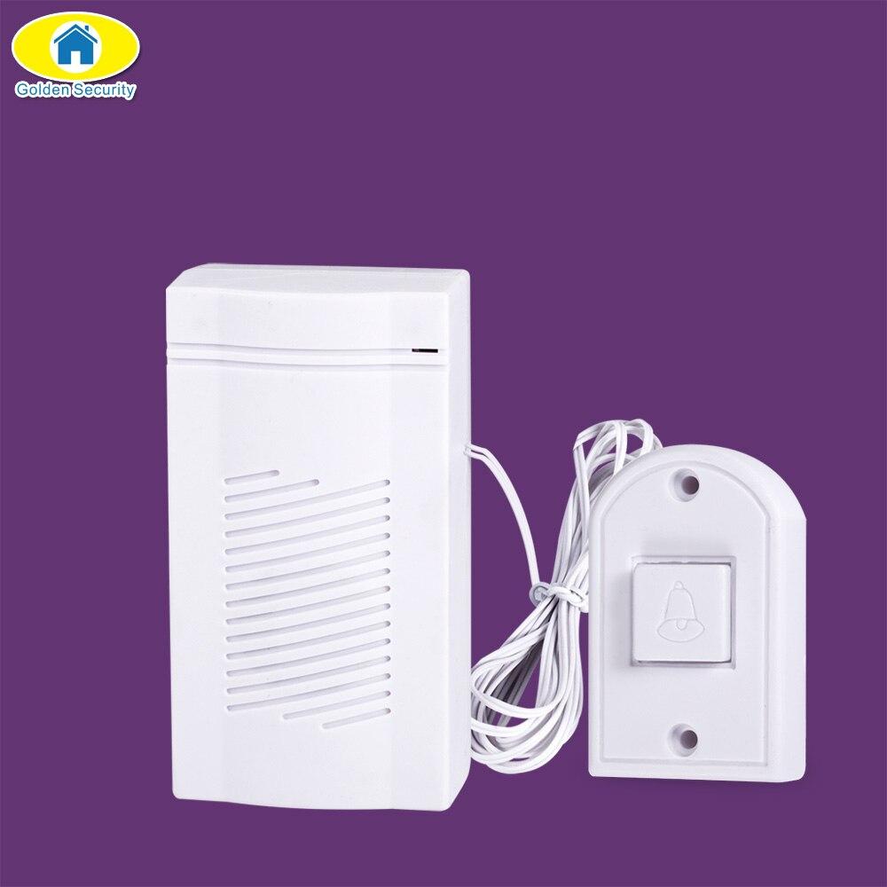 Golden Security Simple Design Wired Alarm Loud Sound Volume Door ...