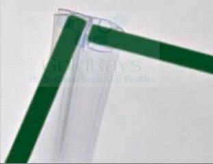 003a 6mm glass shower door seal strip sealing shower enclosures plastic hinge strip china shower door