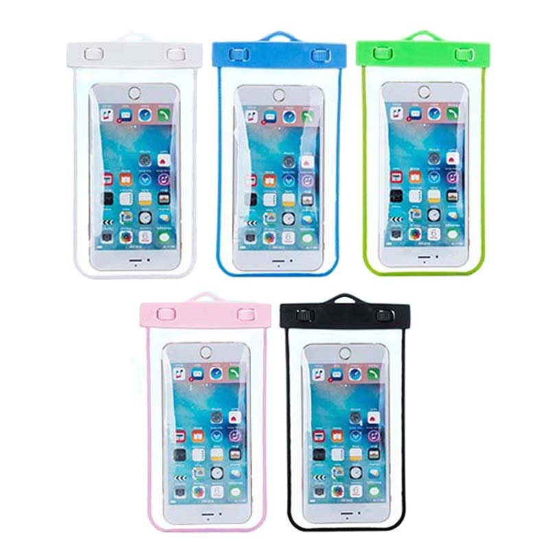 Waterproof Underwater Mobile Phone Case Bag Pouch For iPhone 6 s Plus 5C 5SE 4 For Samsung S8 S7 S6 S5 Xiaomi Redmi Note 3 mi5