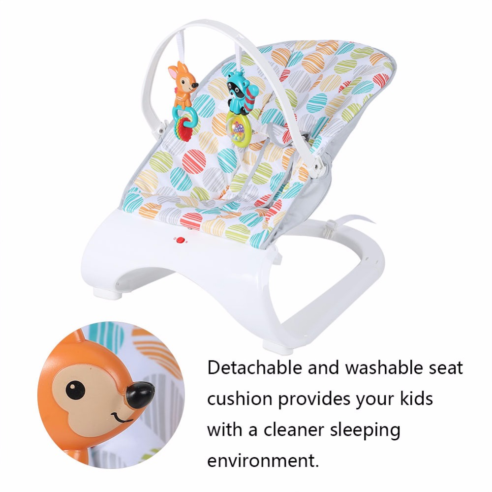 HTB1Og77XuL2gK0jSZFmq6A7iXXa4 Infant Baby Rocker Electric Rocking Chair Cradle Newborn Comfort Vibration Rocking Chair Soothing The baby's Artifact Sleeps